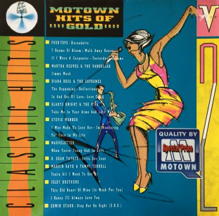 V/A - Motown Hits Of Gold Volume 2 (LP) (G+/VG-)